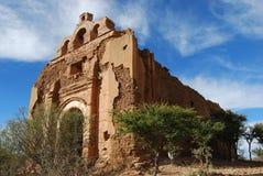 De ruïnes van de kerk Stock Afbeelding