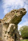 De Ruïnes van de kerk Royalty-vrije Stock Foto's