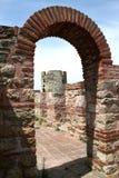 De ruïnes van de kerk in Nesebar Royalty-vrije Stock Afbeeldingen