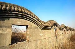 De ruïnes van de muur Royalty-vrije Stock Afbeelding