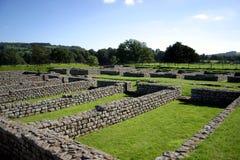 De Ruïnes van de Muur van Hadrianâs Royalty-vrije Stock Afbeelding