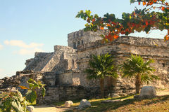 De Ruïnes van de tempel Stock Foto