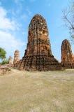 De ruïnes van de tempel Stock Fotografie