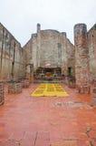 De ruïnes van de tempel Royalty-vrije Stock Afbeeldingen