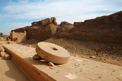 De Ruïnes van de Tempel van Dendera Stock Fotografie