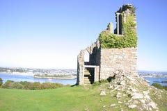 De Ruïnes van de toren Stock Afbeelding