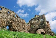 De ruïnes van de vesting stock foto's