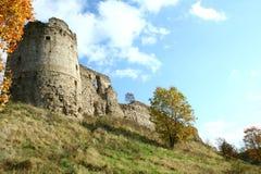 De ruïnes van de vesting Royalty-vrije Stock Foto