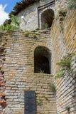 De ruïnes van de vesting Shlisselburg Royalty-vrije Stock Foto's