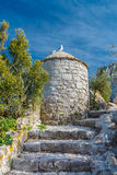 De ruïnes van de vestingwerken Royalty-vrije Stock Fotografie
