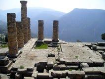 De ruïnes van Delphi Stock Afbeelding