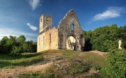 De ruïnes van een oud klooster, Catherine Royalty-vrije Stock Fotografie