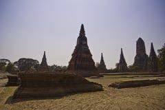 De ruïnes van heilige oude tempel Stock Foto's