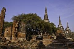 De ruïnes van heilige oude tempel Royalty-vrije Stock Foto