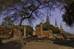 De ruïnes van heilige oude tempel Stock Fotografie