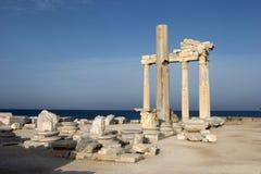 De ruïnes van Hellinic Stock Fotografie