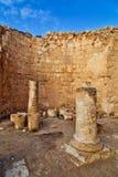 De ruïnes van Herodion in Israël Stock Fotografie