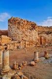 De ruïnes van Herodion in Israël Royalty-vrije Stock Foto's