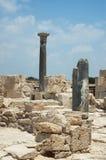De ruïnes van het curium, Cyprus Stock Afbeelding