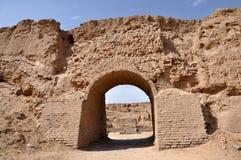 De ruïnes van het grote muurfort Royalty-vrije Stock Foto