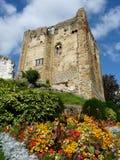 De ruïnes van het kasteel Royalty-vrije Stock Fotografie