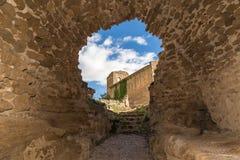 De ruïnes van het kasteel Stock Fotografie