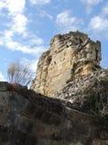 De ruïnes van het kasteel Stock Afbeeldingen