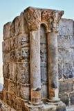 De ruïnes van het klooster van Kerstman Clara Velha Stock Afbeeldingen