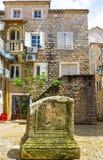 De ruïnes van het monument Royalty-vrije Stock Foto