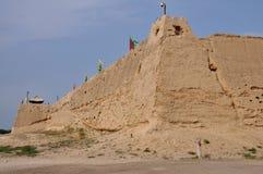 De ruïnes van het oude fort Royalty-vrije Stock Fotografie