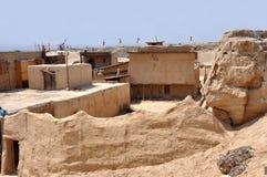De ruïnes van het oude fort Stock Foto