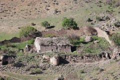 De ruïnes van het Shatinavankklooster Stock Afbeelding