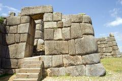 De Ruïnes van Inca Stock Afbeeldingen