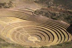 De ruïnes van Inca Royalty-vrije Stock Foto