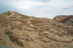 De ruïnes van Inca, Chili royalty-vrije stock fotografie