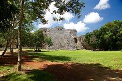 De ruïnes van Itza van Chichen Royalty-vrije Stock Afbeelding