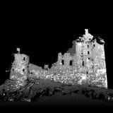 De ruïnes van Kilchurn van het kasteel Stock Afbeelding