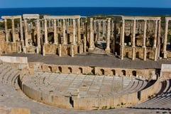 De ruïnes van kolommen Royalty-vrije Stock Fotografie