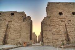 De ruïnes van Magnificient stock foto