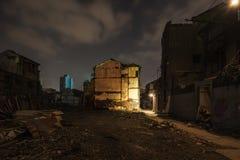 De ruïnes van metropool Stock Foto