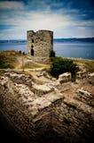 De ruïnes van Nessebar Stock Fotografie