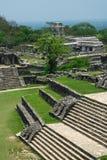 De Ruïnes van Palenque Royalty-vrije Stock Foto's