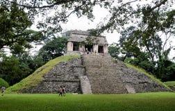 De Ruïnes van Palenque Royalty-vrije Stock Fotografie