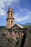 De ruïnes van Paricutin royalty-vrije stock fotografie
