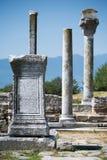 De ruïnes van Philippi Stock Afbeelding