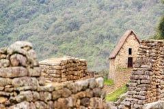 De Ruïnes van Picchu van Machu Stock Foto