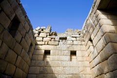 De ruïnes van Picchu van Machu Royalty-vrije Stock Afbeeldingen