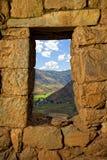 De ruïnes van Pisac Royalty-vrije Stock Foto