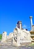 De Ruïnes van Polonnaruwa, tweede - oudst van de koninkrijken van Sri Lanka Stock Afbeelding