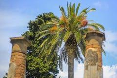 De ruïnes van Pompei Royalty-vrije Stock Afbeelding